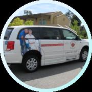 Non emergency medical transportation vehicle